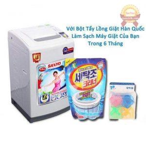 Gói bột tẩy vệ sinh lồng máy giặt